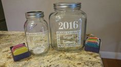 New years memory jar