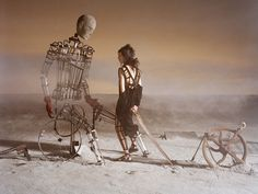 Like a Warrior by Tim Walker for Vogue Italia March