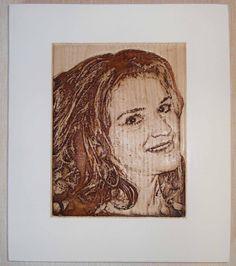 wood portrait