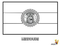 Nebraska State Coloring Day See N Match Official Flag