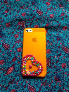 """Candy Case"" iPhone 5 mobile phone case. Handmade by Empress Sew Divine.  X"