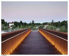 Gallery - Pedestrian Bridge in Aranzadi Park / Peralta Ayesa Arquitectos + Opera ingeniería - 13