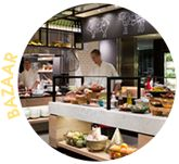 Bazaar Restaurant  - QT Gold Coast  Best ever breakfast