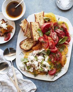 Heirloom Tomato Carpaccio with Burrata