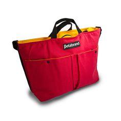 Cornucopia Shoulder Bag Red  by Betabrand