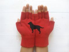 Gloves & more – Gift, Labrador, Dog Gloves, Weihnachtsgeschenk – a unique product by Yastikizi on DaWanda