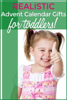 Realistic Advent Calendar Gifts for Toddler and Teens holiday humor | gifts | kids