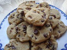 Amaranth chocolate chip cookies makes 1 doz.: 1 1/2 Tbsp Vegetable Oil, 1/8 C. Honey, 11/2 Tbsp Water, 1/2 C. Amaranth Flour, 2 1/2 Tbsp. Arrowroot Starch, 1/2 tsp Baking Powder, 1/16 tsp Sea Salt, 1/2 tsp Vanilla Extract, 2 1/2 Tbsp. chocolate Chips. Bake 350F for 10 min.