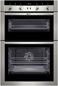 £679 Neff U15M52N3GB Built In Stainless Steel Double Oven