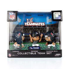 051c02b9220 Houston Texans NFL Lil  Teammates NFL Team Sets Denver Broncos Gear