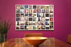 "A Photo Collage Canvas Print | Enter to win a free canvas print from CanvasPop simply by repinning from our ""CanvasPop Pin to Win Contest"" board 