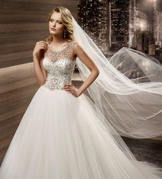 Wedding Dress Romance  ROAB16864 2016