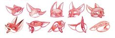 """machaobox: Character Design and Research for """"A FOX TALE"""""""