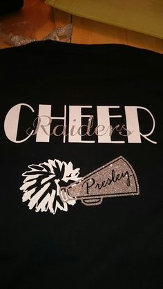 Custom cheer shirt   https://m.facebook.com/CamdenCustomDesigns