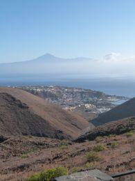 La Gomera views over to Tenerife