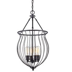 You'll love the Farrier 3 Light Foyer Pendant at Wayfair - Great Deals on all Lighting  products with Free Shipping on most stuff, even the big stuff.