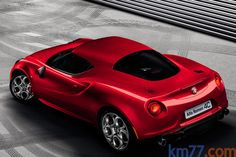 Alfa Romeo 4C - Back