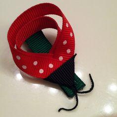 Ladybug hairpins