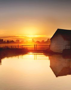 there is hope in every sunrise...the gift of a new day as God paints the skies.
