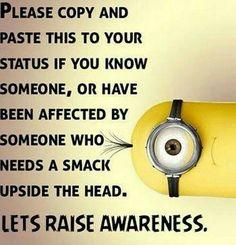 Smack Awareness, lol