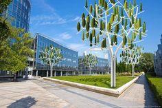 Idee di business dedicate alle Città intelligenti. Mini eolico ad albero