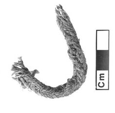 Bronze age loop braid, Egypt--12 to 14 centuries BC - 3 thousand years ago! There is also evidence in China for loop braiding from this long ago. (remnants of braids in armor)