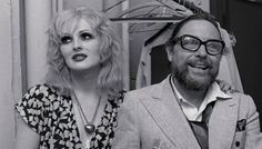 """A classic photo from the early trans actress Candy Darling and Tennessee Williams together while she was in the Broadway production of his play """"Small Craft Warnings. Everybody's Darling, Candy Darling, Tennessee Williams, Ex Boyfriend Humor, Crazy Ex, People Of Interest, Famous Photographers, Kinds Of People, Awkward"""