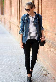 Sheinside Jackets, Zara Pants and Stradivarius Oxfords