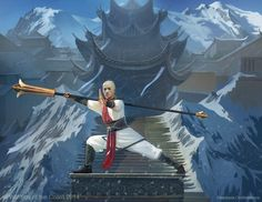 Monastery Guard, Anastasia Ovchinnikova on ArtStation at https://www.artstation.com/artwork/monastery-guard