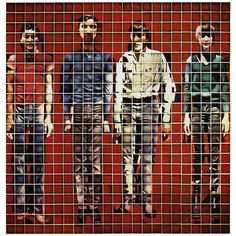 Cover image for More Songs about Buildings and Food by Talking Heads (1978), conceived by David Byrne, executed by Jimmy De Sana using 529 close-up polaroids