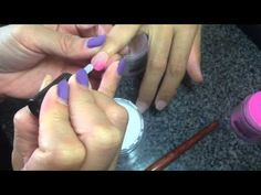 SNS TUTORIAL: Learn how to do French, Ombré, and the Basic Color - YouTube
