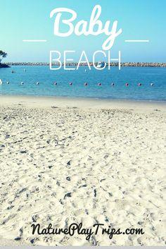 Baby Beach is inside Dana Point Harbor right near the Ocean Institute.