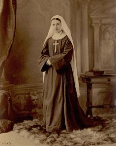 St. Paula, Episcopal Sisters of Saint Margaret. 1880. Source: Sisters of Saint Margaret