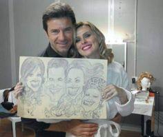 Caricaturista per matrimoni ed eventi speciali