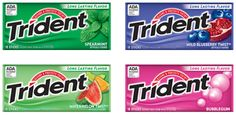 Trident Gum Coupon = FREE at Rite Aid, $.50 at Target!