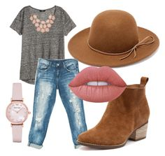 """""""year round happiness"""" by josiemae426 on Polyvore featuring H&M, Sans Souci, Emporio Armani, RHYTHM and Lime Crime"""