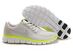 buy popular 2f633 8c087 Nike Free 5.0 V4 Mens Grey Neon Green  79.00 Nike Dunks, Nike Air Max,