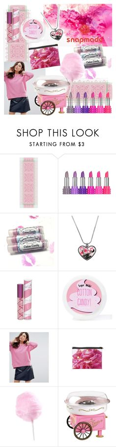 """""""Pink like a candy"""" by ales41 ❤ liked on Polyvore featuring Kat Von D, Sugar Milk Co, French Connection and Nostalgia Electrics"""