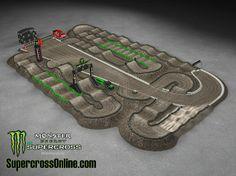 2014 Monster Energy AMA Supercross Track - East Rutherford