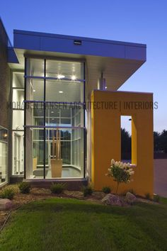 Caterpillar Office Showroom Facility Located In Maple Grove, MN, Designed  By Mohagen Hansen Architecture