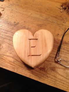 Valentines Day heart with compartment for a billet-doux.