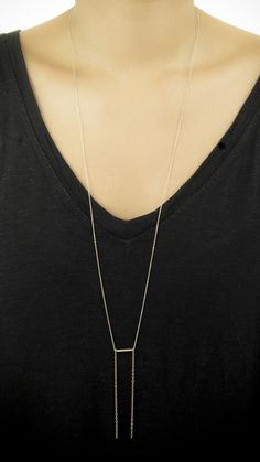 Long Nota Necklace