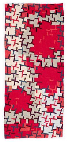 """Helix #1, 23"""" x 46"""". Recent Work - Gerri Spilka Quilts"""