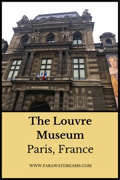 Ah, Paris. The Louvre Museum was one of the most amazing places in Paris that we visited. Paris France Travel, Paris Travel Guide, Travel Tips For Europe, France Europe, Travel Guides, Places To Travel, Places To Go, Louvre Museum, Paris Itinerary
