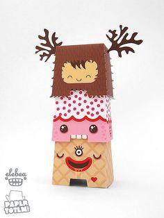Paper Totem By Dolly Oblong
