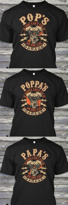 Orders placed now will arrive before Christmas.  Perfect for your Harley Davidson riding husband, dad or motorcycle riding grandfather. We've got Gramps, Pops, Papa, Grampy t-shirts and more. He's sure to love one of these if enjoys working on his bike out in the garage. These make great presents for your favorite biker or motorcycle mechanic on Christmas, Fathers Day, his birthday or your anniversary. Don't wait, order now
