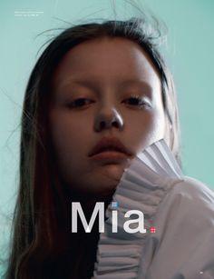 Fashion Copious - Mia Goth by David Sims for Love No.14 FW 2015