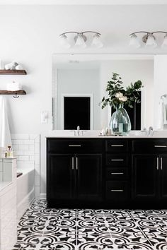 painting tile floors DIY Painted Tile Floors - Crafted by the Hunts Painting Over Tiles, Painting Bathroom Tiles, Painting Tile Floors, Bath Tiles, Bathroom Floor Tiles, Diy Painting, How To Paint Tiles, Tile Floor Diy, Ceramic Floor Tiles