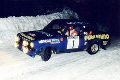 Ford Escort rally car