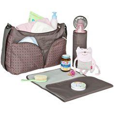 Le sac à langer Comb conçu par Lässig est très pratique avec les rangements et accessoires dont il dispose. Il permet d'apporter le strict minimum lors des sorties avec bébé.